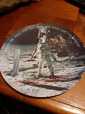 Plate That's One Small Step For A Man A Giant Leap For Mankind 1969 Texas Ware