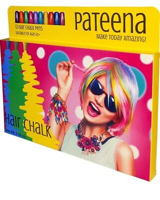 Hair Chalk for Girls | Temporary Hair Color for Kids | Hair Color Wax Pens Make