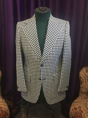 Mens Jkt nos vintage 60/70's  Check pattern Memphis Tennessee!