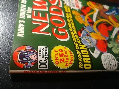 """New Gods 4 Nm+ 9.6 White Pgs """"hilltop Ped Coll🐲1972 Stunning Copy"""