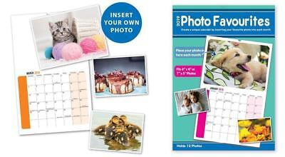 2019 Your Pictures calendar Photo Favourites Monthly Daily Planner