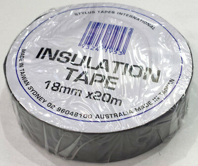 Electrical Pvc Insulation Tape - Silver Colour - 18Mm Wide X 20M Roll