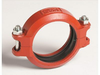 Victaulic S75 PAINTED COUPLING Flexible *USA Brand- 125mm, 150mm Or 200mm