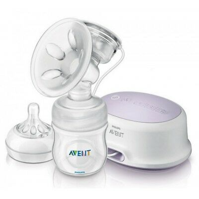 PHILIPS AVENT NATURAL BREAST PUMP ELECTRIC SCF334 Very Good Condition