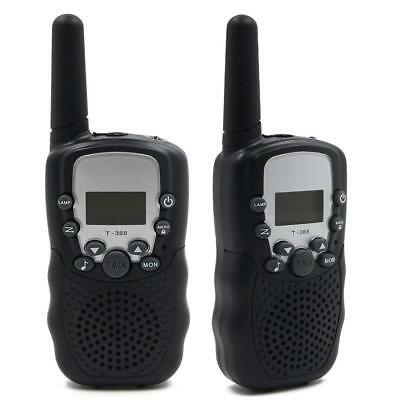 Rechargeable Kids Walkie Talkies 22 Channel 0.5W FRS/GMRS 2 Way Radios Batteries