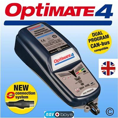 Optimate 4 Dual Program 12V Battery Saving Charger, Tester And Maintainer New Fd