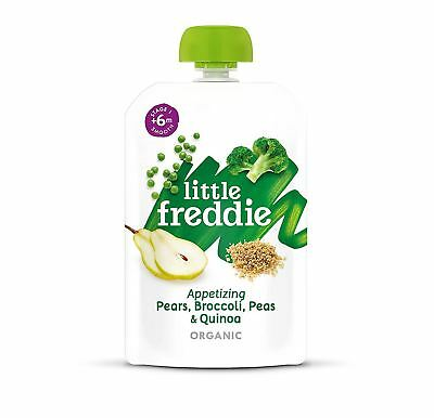 Little Freddie Pears Broccoli Peas & Quinoa 100g (Pack of 6)