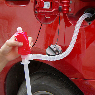 Car Manual Hand Siphon Pump Hose Gas Oil Liquid Transfer Pump Oil extractor Tool