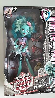 Monster High Barbie OOAK neu new Honey Swamp Frights Camera Action