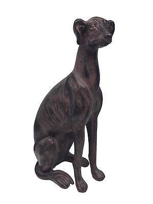 Large Greyhound Sculpture Statue Figure Dog House Ornament 40 cm