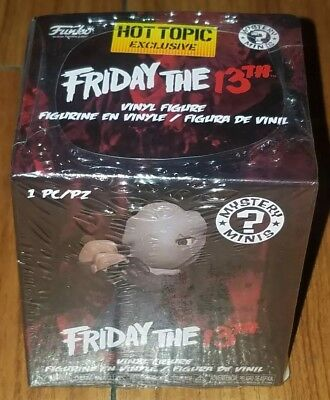 Funko Mystery Minis Jason Voorhees Friday the 13th Hot Topic Exclusive