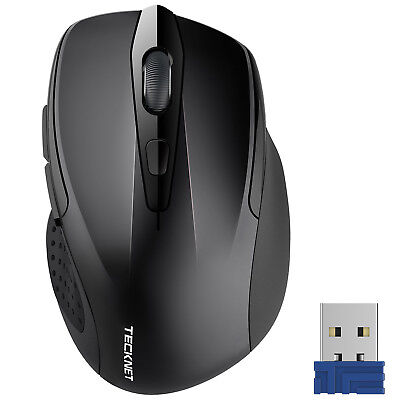 TeckNet 2.4G Wireless Mouse USB Cordless Mice Optical Scroll For PC Laptop