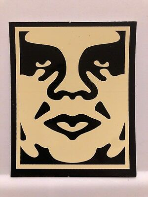 """SHEPARD FAIREY Obey Giant Sticker 1X0.75/"""" MINI ANDRE TOP LOGO from poster print"""