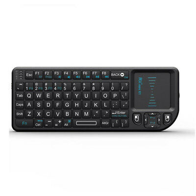 Rii Mini X1 2.4G Wireless Mini Keyboard with Touchpad for PC Smart TV notebook*