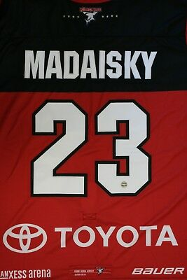 Kölner Haie Trikot 18/19 Pre Season THIRD, #23 MADAISKY Game-Worn Gr. L