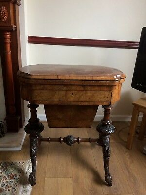 Antique Games and work table