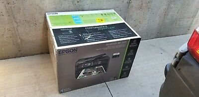 Epson WorkForce Office Wireless All-in-One Wide Format Color Copy Print Scan Fax