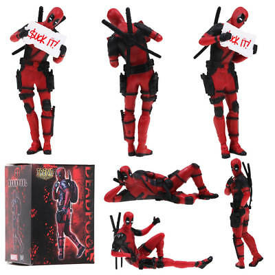 Deadpool Marvel Legends Hero PVC Action Figure Statue Toy Series Collection Gift