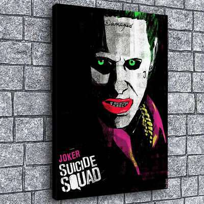 Suicide Squad Joker HD Canvas Prints Painting Home Decor Picture Wall Art Poster