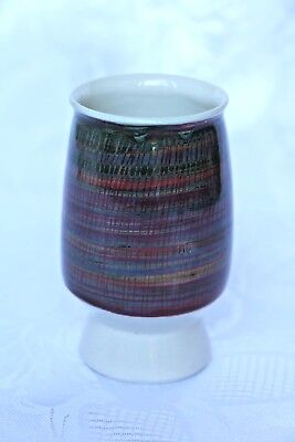Iden Pottery, Sussex, vintage ceramic hand-painted bowl/egg-cup