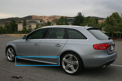 Audi A4 B8 S4 Look Side Skirts