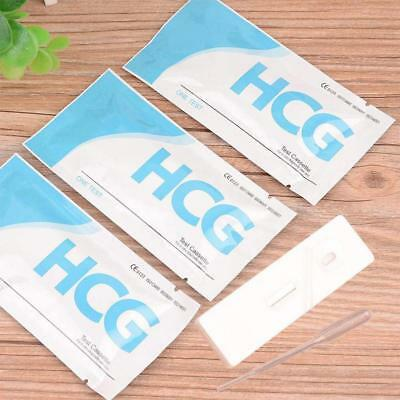 Lot of 10 Home Early Pregnancy Test Strips 5 Minute Results Top Sale New