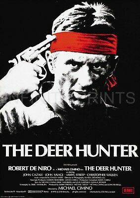 The Deer Hunter Movie Film Poster A3 A4