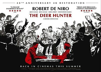 The Deer Hunter 40th Anniversary Movie Film Poster A2 A3 A4A5
