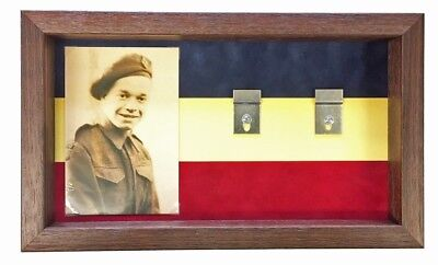 Large REME Medal Display Case for 5+ Medals With Photograph