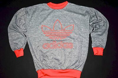 Adidas Pullover Pulli Sweater Sweat-Shirt Vintage Deadstock Style D 164 NEU NEW
