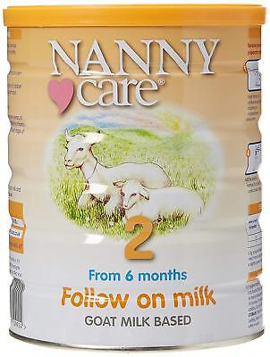 Nanny Care Goats Milk - Follow on Milk - Stage 2 900g (Pack of 4)