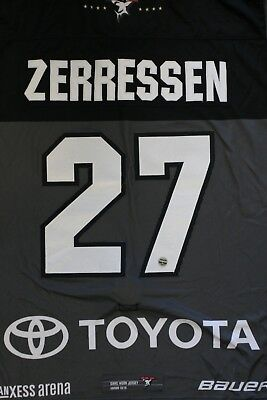 Kölner Haie Trikot 18/19 Pre Season HOME, #27 ZERRESSEN Game-Worn Gr. XL