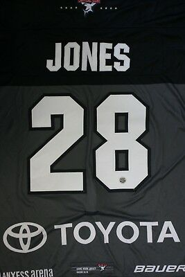 Kölner Haie Trikot 18/19 Pre Season HOME, #28 JONES Game-Worn Gr. L