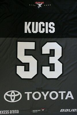 Kölner Haie Trikot 18/19 Pre Season HOME, #53 KUCIS Game-Issued Gr. GoalieXXL