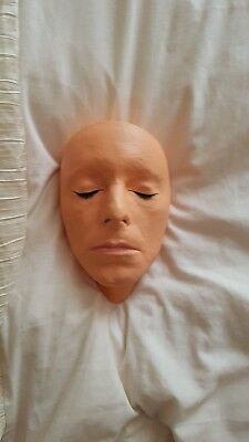 David Bowie Life Mask Plaster