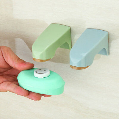 Magnetic Wall Soap Holder Suction Cup Bathroom Adhesive Hanging Wall Racks JGR