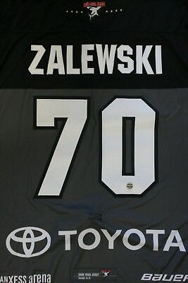 Kölner Haie Trikot 18/19 Pre Season HOME, #70 ZALEWSKI Game-Worn Gr. XL