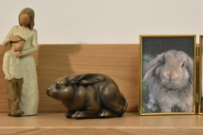 Rabbit Urn Pet Memorial to safely store your pets ashes