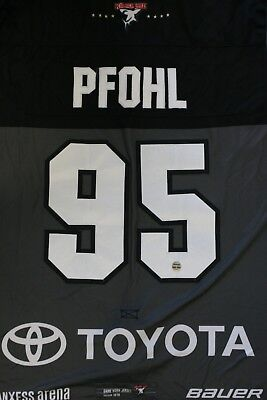 Kölner Haie Trikot 18/19 Pre Season HOME, #95 PFOHL Game-Issued Gr. L