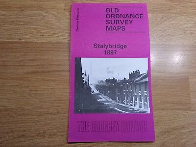 Old Ordnance Survey Maps The Godfrey Edition Stalybridge 1897