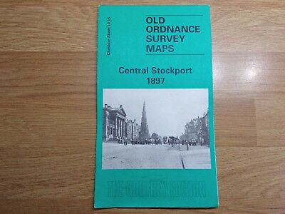 Old Ordnance Survey Maps The Godfrey Edition Central Stockport 1897