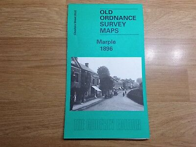 Old Ordnance Survey Maps The Godfrey Edition Marple 1896
