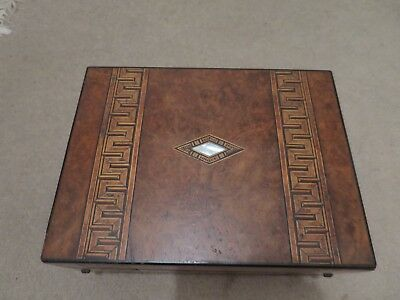 Antique Victorian Writer's Compendium with Marquetry inlay,Box