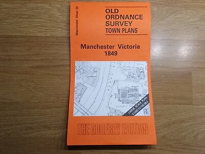 Old Ordnance Survey Maps The Godfrey Edition Manchester Victoria 1849