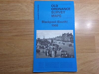 Old Ordnance Survey Maps The Godfrey Edition Blackpool South 1909