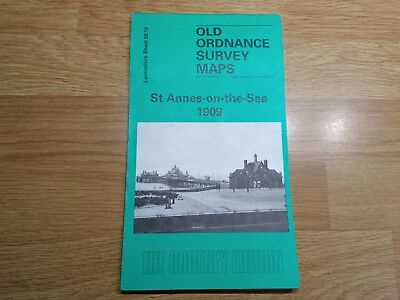 Old Ordnance Survey Maps The Godfrey Edition St.Annes-on-the-Sea 1909