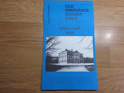 Old Ordnance Survey Maps The Godfrey Edition Lytham Hall 1908