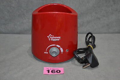 Tommee Tippee Closer To Nature Baby Food And Bottle Electric Warmer In Red 1072