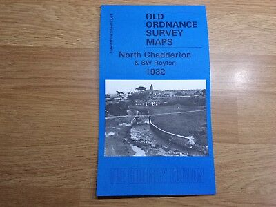 Old Ordnance Survey Maps The Godfrey Edition North Chadderton & SW Royton 1932