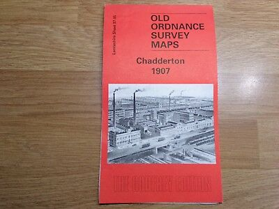 Old Ordnance Survey Maps The Godfrey Edition Chadderton 1907